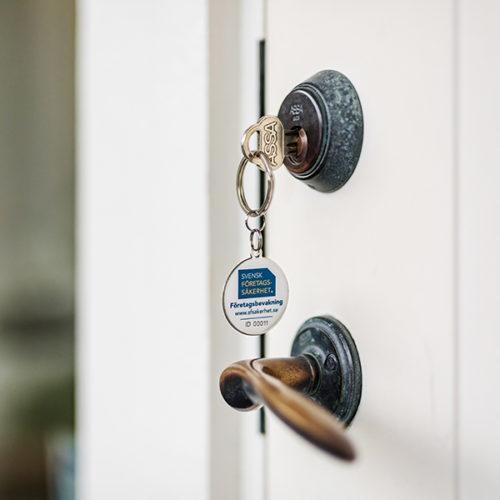 Återfå dina nycklar med vår säkerhetstjänst Nyckelsäkerhet